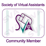 Member of Society of Virtual Assistants